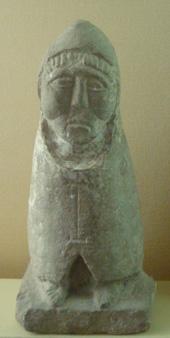 Галло-римская статуя Телесфора обнаружена в 1884 году в Мулезане на юге Франции